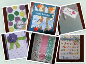 Card collage